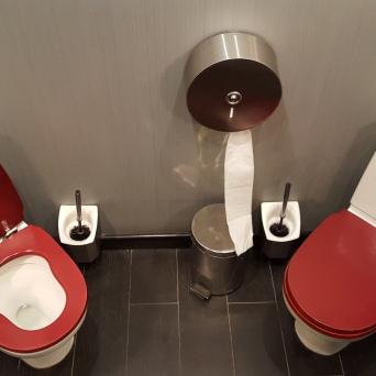 Ravintolan vessahuumoria?