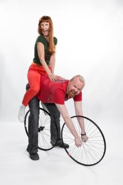 Kuva punaiset pyöräkuva